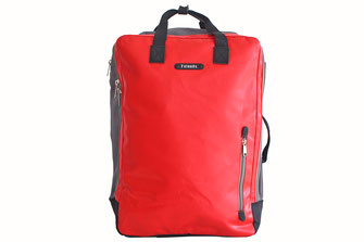 7clouds Agal 7.1 red backpack cabin baggage