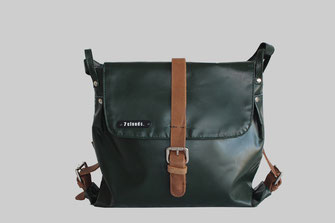 lady shoulderbag Nechel from 7clouds in jungle green