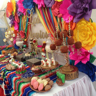 mesa de dulces en méxico