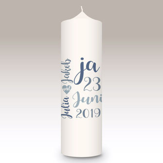moderne und individuelle Hochzeitskerze Herz Hochzeit machs-licht-an individuell Stumpenkerze selbstgemacht Standesamt Kirche Hochzeitsbrauch Geschenk Dekoration Kerze deko Trauung Trauspruch Kerzenshop #machs-licht-an Ringe wie du bist