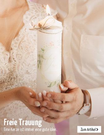 Freie Trauung mit Hochzeitskerze