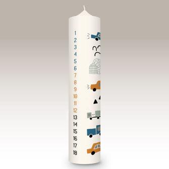 moderne und individuelle Geburtstagskerze Geburtstag Geburt Kerze machs-licht-an individuell Stumpenkerze selbstgemacht Geschenk Dekoration deko Birthday Kerzenshop