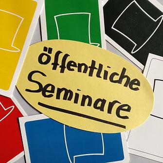 öffentliche Seminare Six Thinking Hats