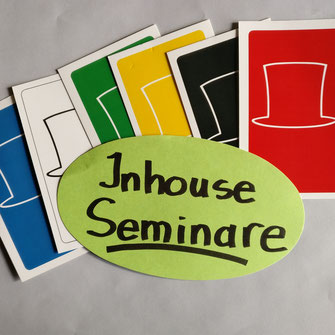 Inhouse Seminare, firmeninterne Seminare, Six Thinking Hats für kreative ergebnisorientierte Teams
