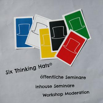 Six Thinking Hats: öffentliche Seminare, inhouse Seminare, Moderation, Workshops