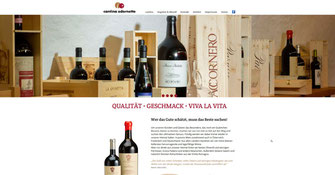website cantina adornetto
