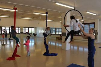 Luftakrobatik Kinder