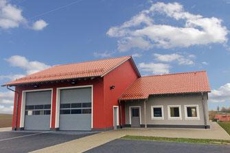 Feuerwehrgerätehaus Kirchendemenreuth Neubau