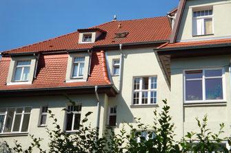 Weimar, Sanierungen, Bestandsbauten