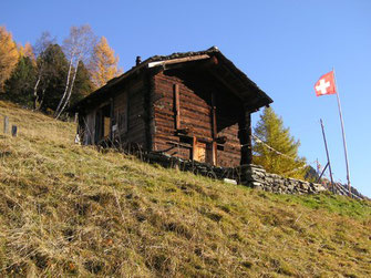 Eremo with alp meadow