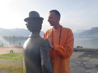 Vevey Statue Charlie Chaplin