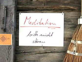 Meditación en Suiza