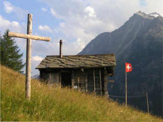 Eremo with cross