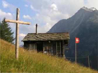 Eremo, Einsiedelei im Wallis