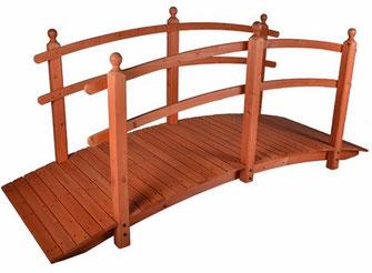 ponte legno +passarella +decorativi +giardino