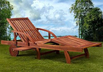 lettino +prendisole +legno +sdraio +legno
