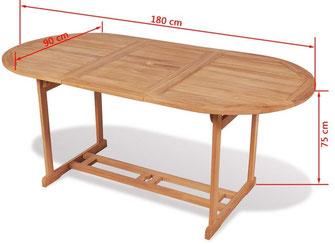 tavolo +teak