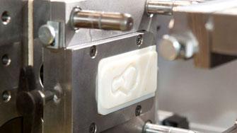Aluminium Werkzeugeinsatz mit 3D-Druck für Spritzguss