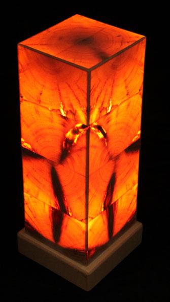 Zirbenholzlampe 35x12x12cm