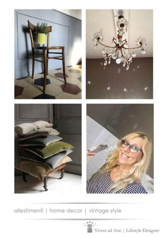 Home Decor | Interior Design | Vintage style | Vivere ad Arte design