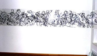 Installation in der Galerie Hess10, München