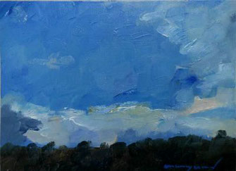 20. Juni 2012, Ölbild, Landschaft