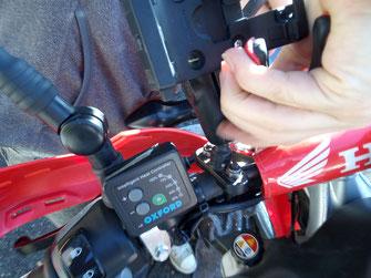 Oxford heitgriffe für die Honda CRF250L