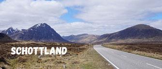 Motorrad Reise Schottland