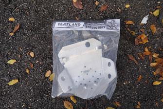 Flatland Skidplate für die Honda CRF250L