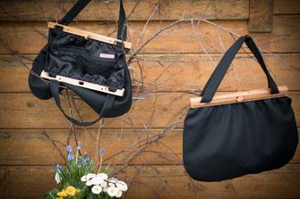 Toggenburger Trachtentasche mit Holzverschluss