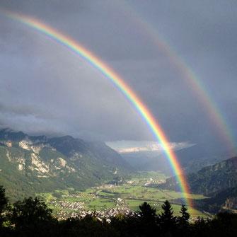 Bild Doppelter Regenbogen