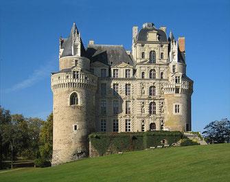 château Loire Valley cottage Saumur Angers