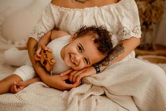 natürliche Babyfotos Fotostudio
