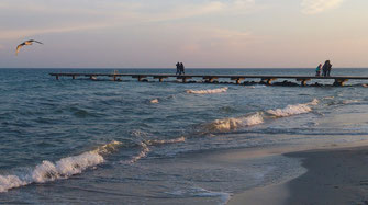 Strand auf Fehmern