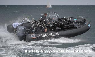 RIb Speedboat Charter Kiel Ostsee