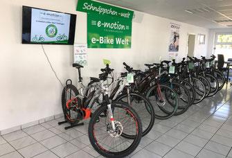Die e-motion e-Bike Welt in Tuttlingen