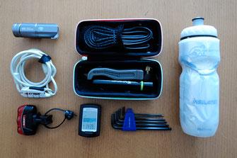 ポタリングに必要な装備と携行品 - はじめてのポタリング