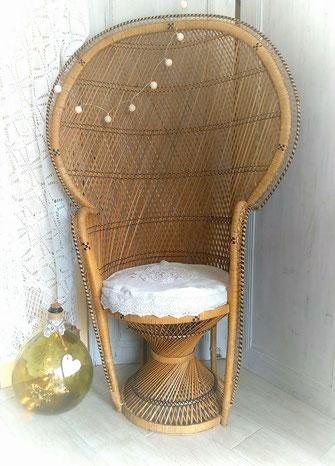 fauteuil emmanuelle location mariage vintage champêtre le mans sarthe