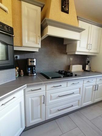 relooking de meuble cuisine le mans sarthe moderne blanc gris
