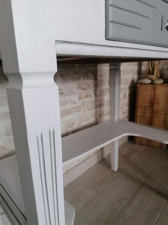 relooking de meuble le mans sarthe coiffeuse meuble blanc gris