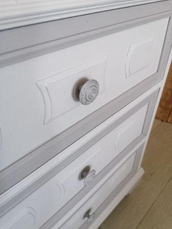 relooking de meubles sarthe le mans chevet gris
