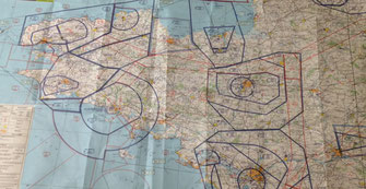Apprendre facilement à lire une carte aéronautique