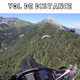 vol de distance
