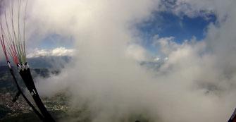 Savoir à quelle altitude se trouvent les nuages grâce à un émmagramme