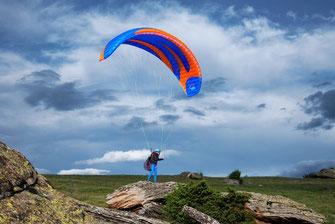 L'icaro Sitta est l'aile qu'il vous faut si vous voulez faire du vol rando