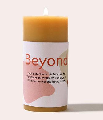 Bachblüten Kerze Beyond Trauer