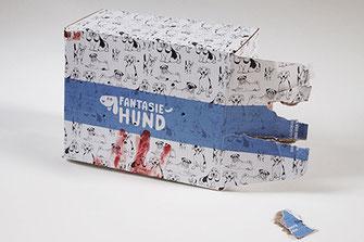 Fantasiehund Second Hund Feldbert in einer Box