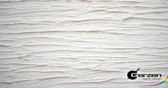 Wellenputz - Außenputz, Fassadenputz von GERZEN wand-design