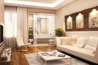 abgeh ngte decken dekorative deckenkonstruktionen deckenmodule deckendesign malerarbeiten. Black Bedroom Furniture Sets. Home Design Ideas