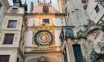 Le gros horloge, gros horloge, rue du gros horloge, rouen, tourisme, normandie, musée, visite guidée,  Rouen,
